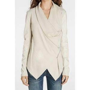 NWT Blank NYC Private Practice Jacket Cream